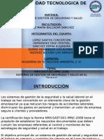 NMX-SAST-001-IMNC-2008 SISTEMAS DE GESTIÓN DE SEGURIDAD Y SALUD EN EL TRABAJO