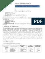 PROYECTO DE APRENDIZAJE N°1 2015 (2)