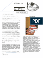 The Archivist - April 2015 -- Chanute Historical Society