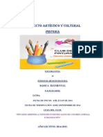 CLUB PROYECTO DE PINTURA PARA ESTUDIANTES DE 2° GRADO