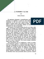 El Pacifismo y La Paz - Thomas Molnar