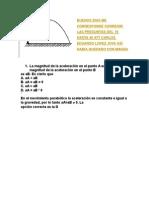Preguntas de Matematcas de La 19 a La 40 Evaluada Por Carlos Lopezkf