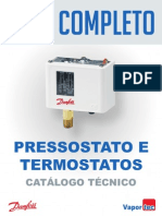 Pressostatos eTermostatos Danfoss