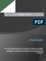 Presentacion de Ergonomia