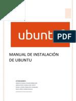 Manual Instalación Ubuntu 14 04
