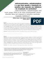 Artigo sobre Antipsicóticos, anticonvulsivantes, antiadrenérgicos e outras drogas