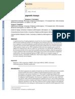 An Overview of Epigenetic Assays