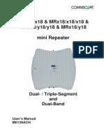 M0139ACH MR 2 Bands 3 Segments
