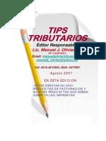 Tips Tributarios Providencias No.0591 y 0592
