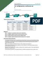 9.2.3.4 Lab - Configuracion y Verificacion de Restricciones VTYs