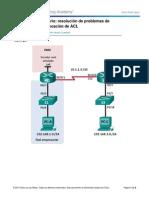 9.4.2.7 Lab - Configuracion y Verificacion de ACL Extendidas