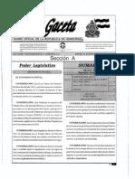 Ley General de La Industria Electrica Honduras - Decreto 404-2014