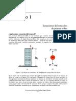 Temas 1.1 a 1.3, Ecuaciones Diferenciales