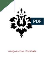 Luftschloss Cocktailkarte (März 2010)