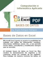 Bases de Datos en Excel4916