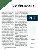FLX Force Sensor Study Guide