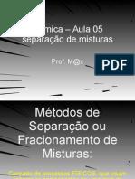 quimica_aula_05_separação de misturas
