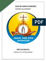 Paróquia Santa Edwiges Pré-Eucaristia (Catequizando)Corrigido