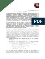 2015-13-06 Comunicado Oficial - CEC Histogeo - Toma Andrés Bello.