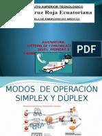 Sistemas Simplex y Duplex (2)