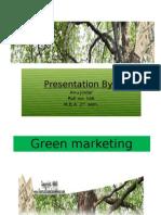 Green marketing Presentation