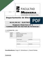 T.P.N°3Correccion de factor de potencia