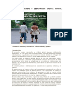 GUATEMALA, Desnutrición Crónica