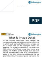 Image Processing Introduction Matlab