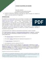 Determinacion de Colesterol en Sangre.docx Reporte