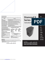 Wharfedale Diamond 9 Series Manual and Setup Guide