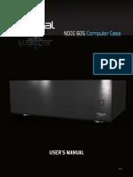 Fractal Design Node 605 User Guide and Manual