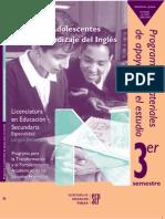Los Adolescentes y El Aprendizaje Del Inglés