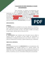 Contrato de Alquiler de Bien Inmueble a Plazo Determinado-1