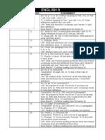 English 9 - Lessons 11-20