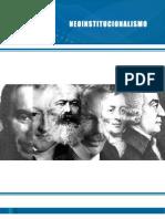 Pensamiento Economico Neoinstitucionalismo