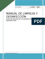 2. Limpieza y Desinfección