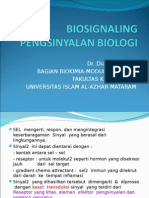 Biosignaling Dan Reseptor