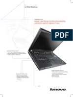ThinkPad T61 Brochure Jun08