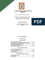 Catálogo de Pruebas 1