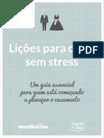 Lições Para Casar Sem Stress