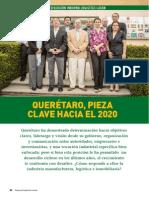 Articulo Revista 96 Queretaro Pieza Clave Hacia El 2020