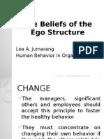 Beliefs on the Ego Structure - Lea Jumarang