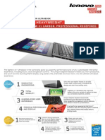 ThinkPad X1 Carbon Datasheet