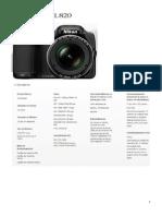 Nikon L820_Especificações Técnicas