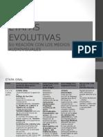ETAPAS EVOLUTIVAS