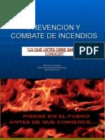 Prevencion y Combate de Incendios - PROYECTO