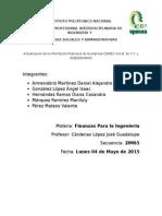 Actualizacion de La Info Financiera Cemex