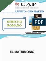 El Matrimonio en El Derecho Romano Ok