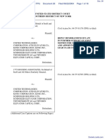 In re Elevator Antitrust Litigation - Document No. 26