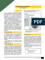Funciones Del Lenguaje y Tipología Textual